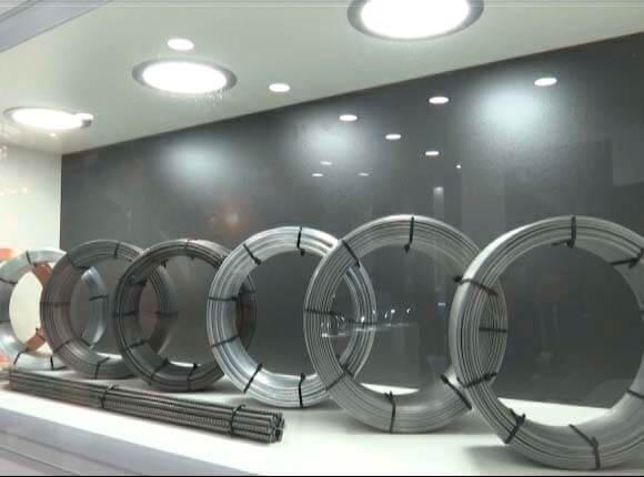 Абинский электрометаллургический завод представил свою продукцию в Москве