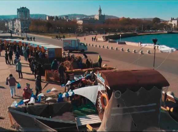 В Новороссийске на «Хамсафесте-2019» приготовили 940 кг анчоусов