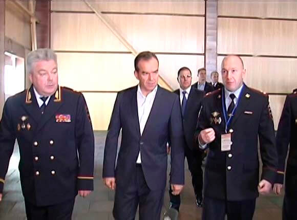 Вениамин Кондратьев: участковые Кубани ставят службу превыше личных нужд