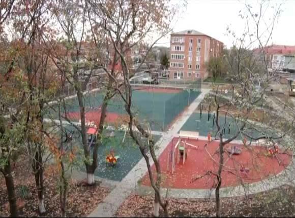В Курганинском районе появится дворовая площадка площадью 3 га