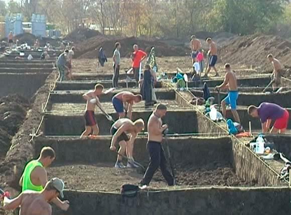 В Выселковском районе на месте строительства ж/д станции нашли древнее поселение