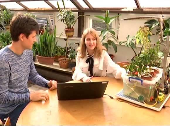 В Славянском районе 15-летняя школьница создала гидропонную установку