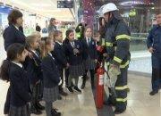 В одном из торговых центров Краснодара провели учебную эвакуацию школьников