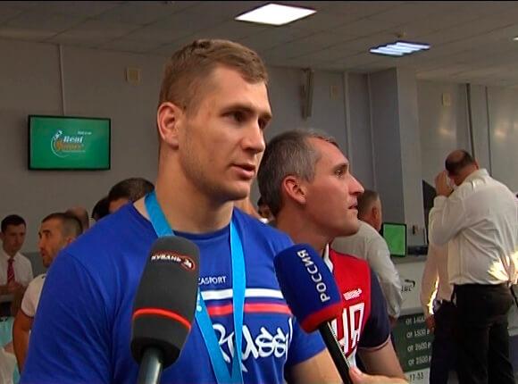 Александр Головин стал бронзовым призером Европы по греко-римской борьбе