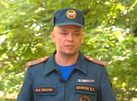Интервью с замначальника управления ГУ МЧС РФ по краю Дмитрием Божковым