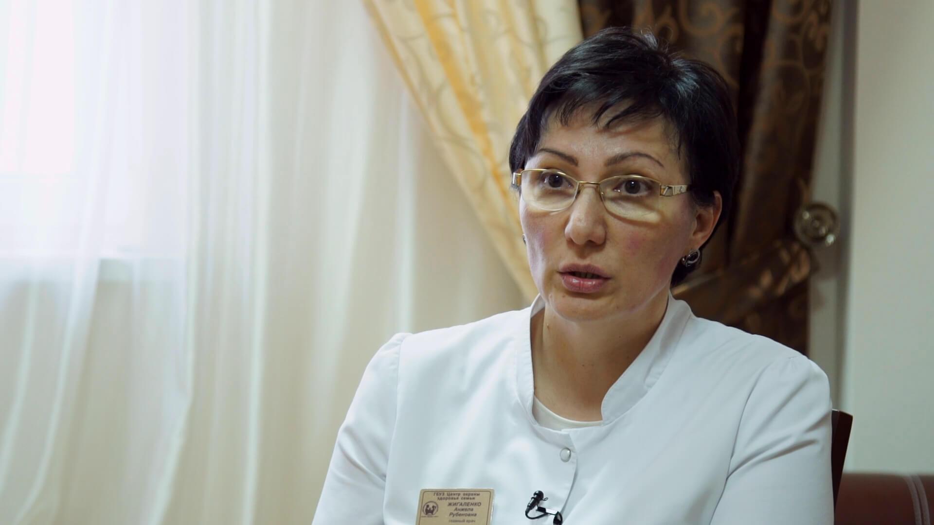 Интервью с главным врачом краевого центра репродукции Анжелой Жигаленко