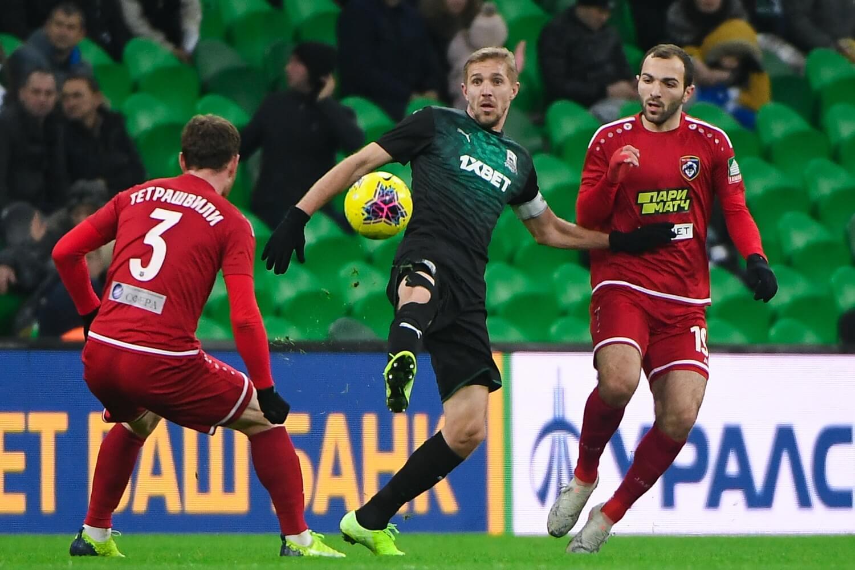 Как ФК «Краснодар» принял «Тамбов» на своем поле