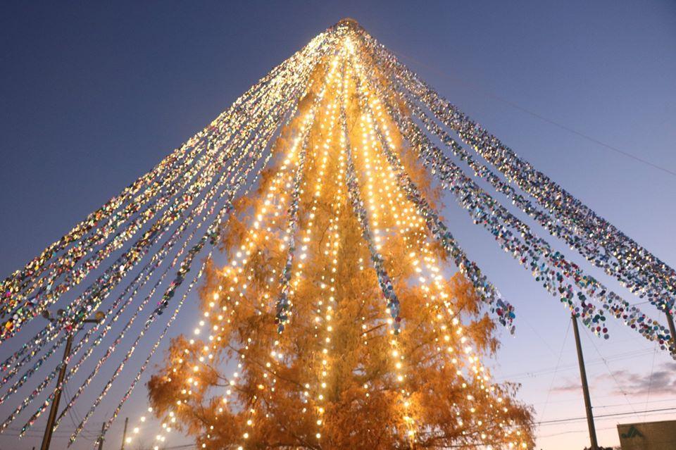 Японский подход: жители необычно украсили елку и побили мировой рекорд