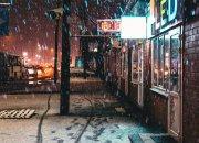 Как жители и гости Краснодарского края встретили первый снег
