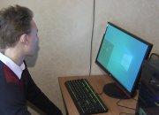 На Кубани ученику школы-интерната подарили игровой компьютер