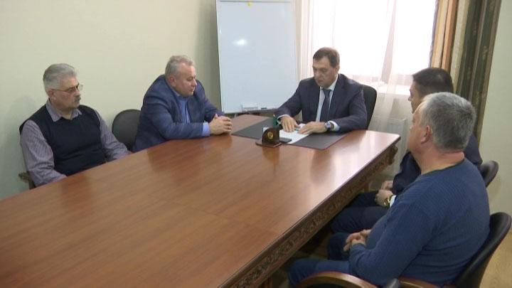 В Краснодаре бизнес-омбудсмен Игорь Якимчик обсудил проблемы предпринимателей