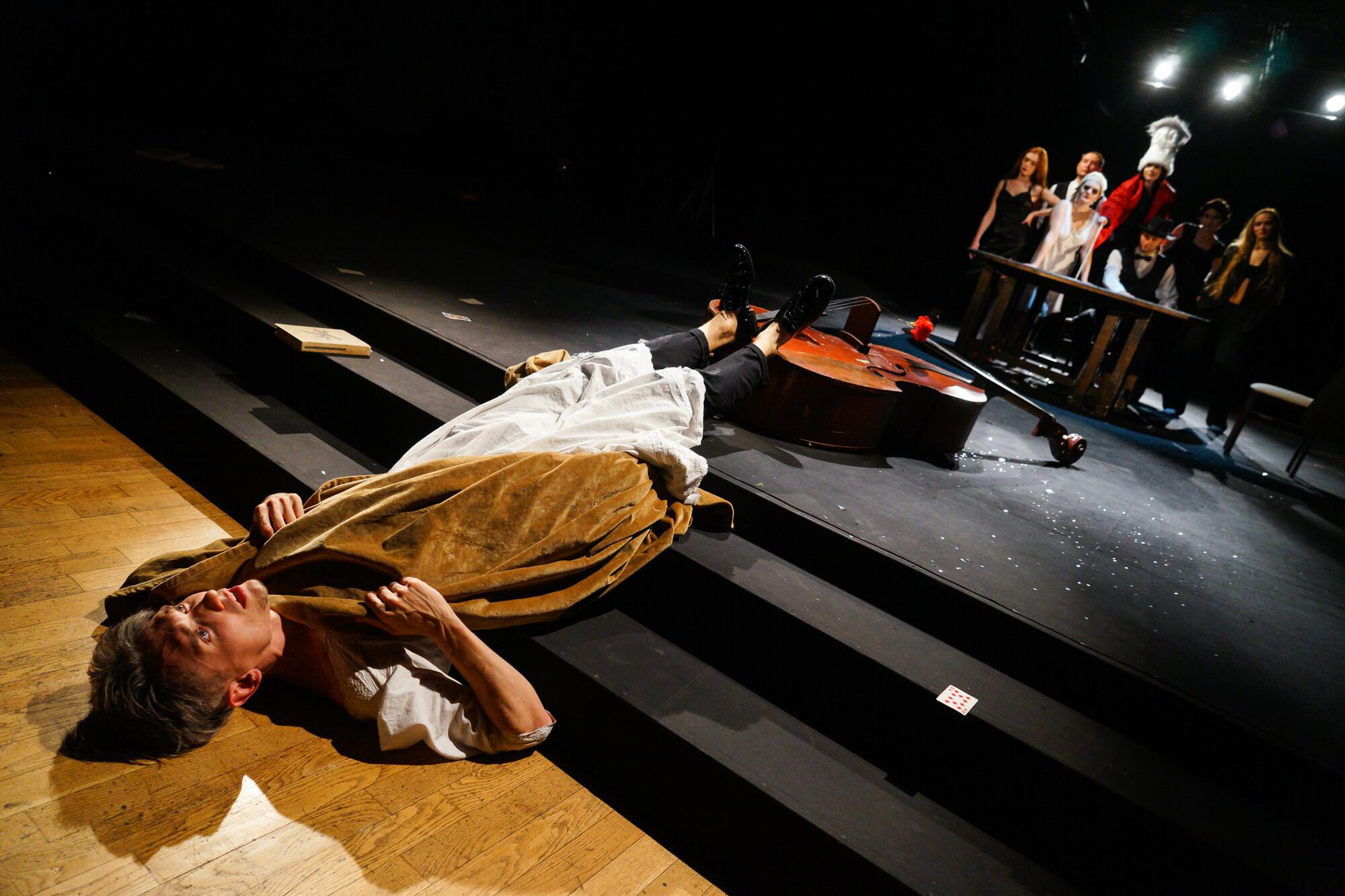 Предпремьерный показ спектакля «Пиковая дама» в краснодарском Театре драмы