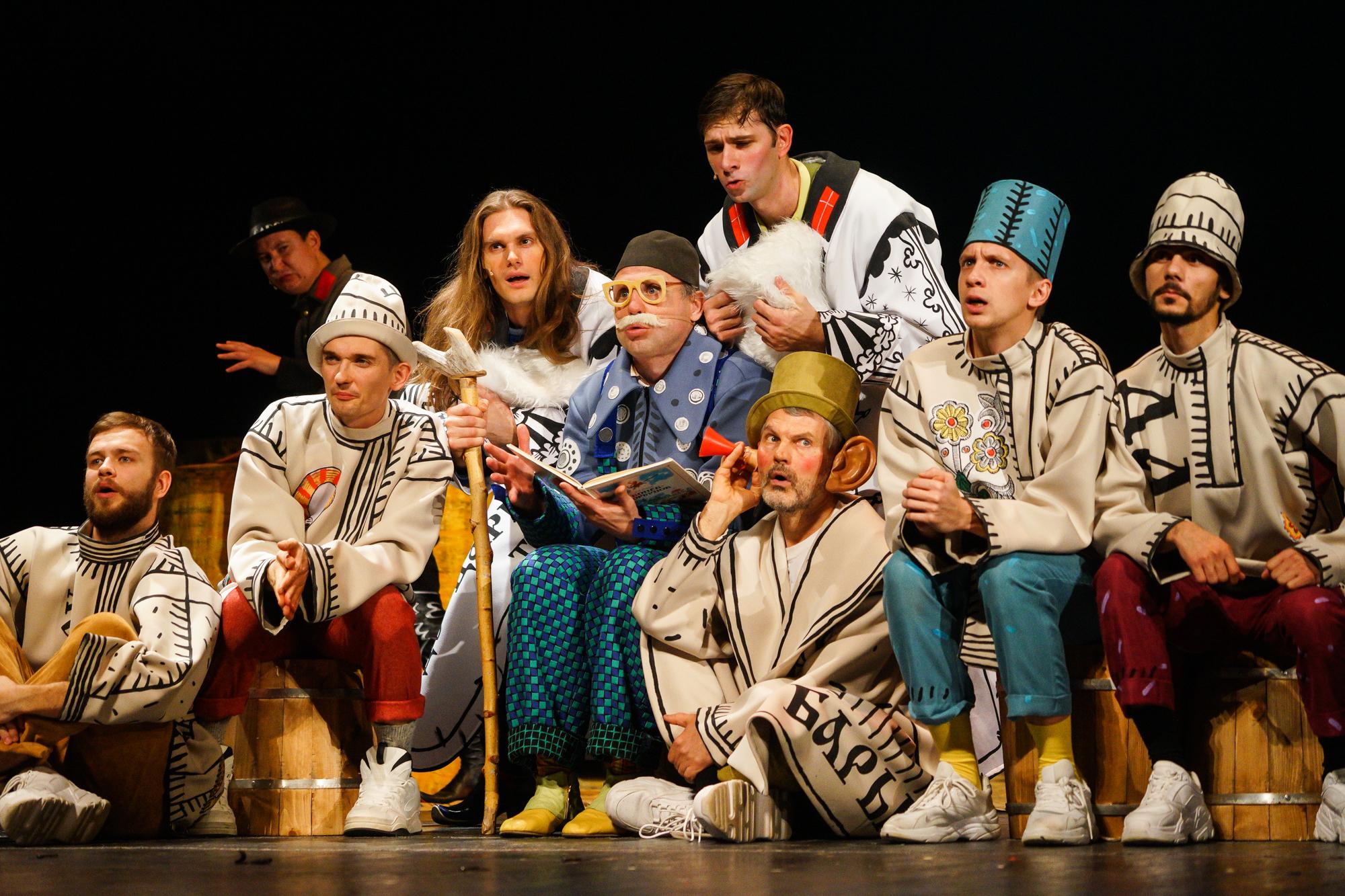 Предпремьерный показ спектакля «Конек-Горбунок» в Краснодарском театре драмы