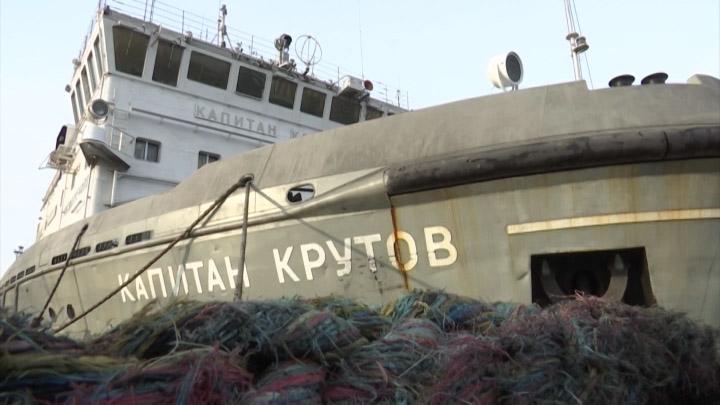 В морском порту Ейска подготовились к зимней ледовой кампании