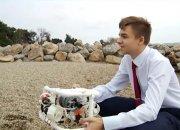 В Геленджике 11-классник сконструировал подводного робота