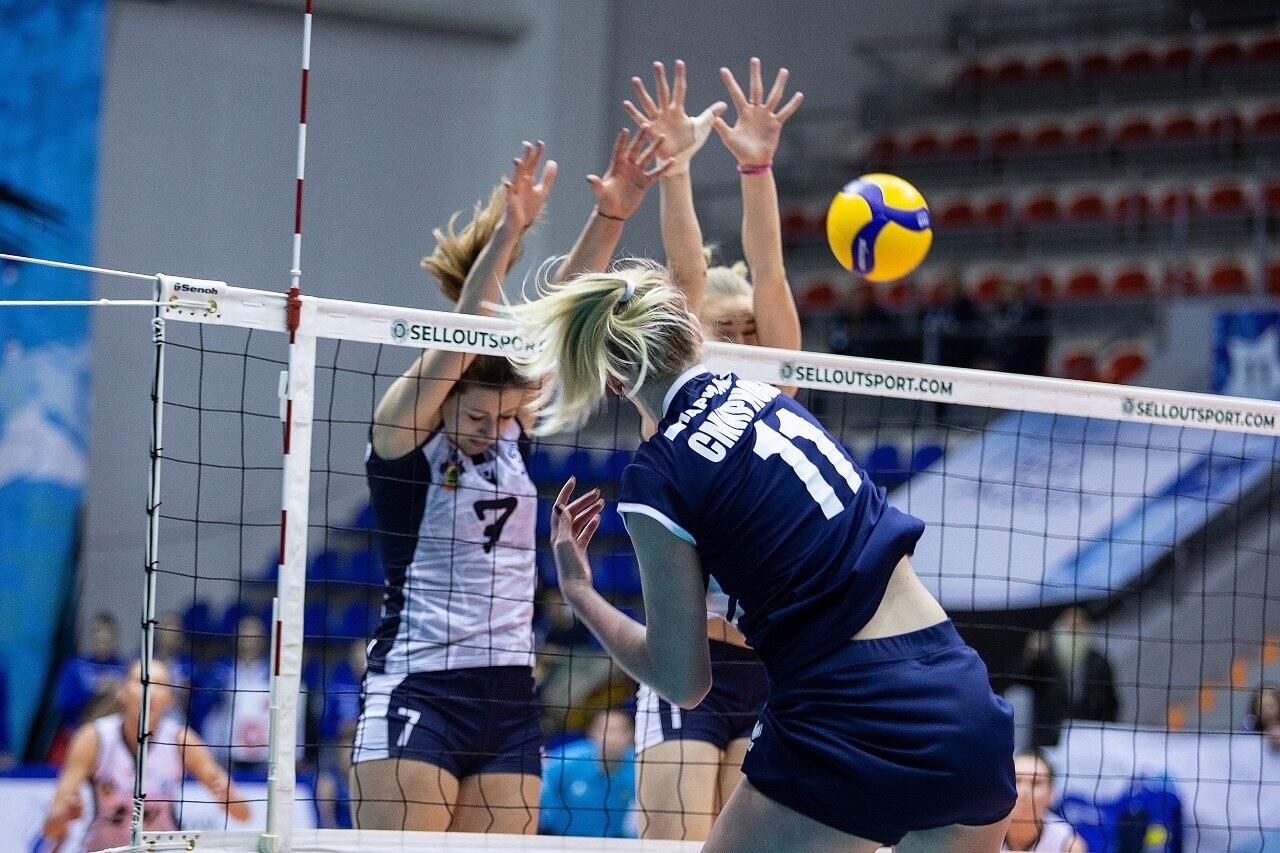 Как волейболистки краснодарского «Динамо» сыграли матч 7 тура Суперлиги