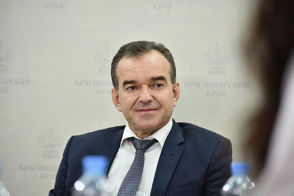 Вениамин Кондратьев. Итоговое интервью СМИ Краснодарского края — 2019