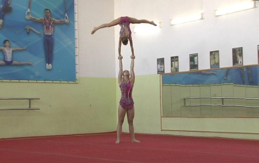 Итоги первого дня первенства Краснодарского края по спортивной акробатике