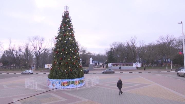 В Армавире новогоднюю ночь жители будут встречать на Центральной площади