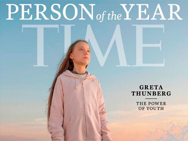 Победила молодость: 16-летняя Грета Тунберг стала человеком года по версии Time