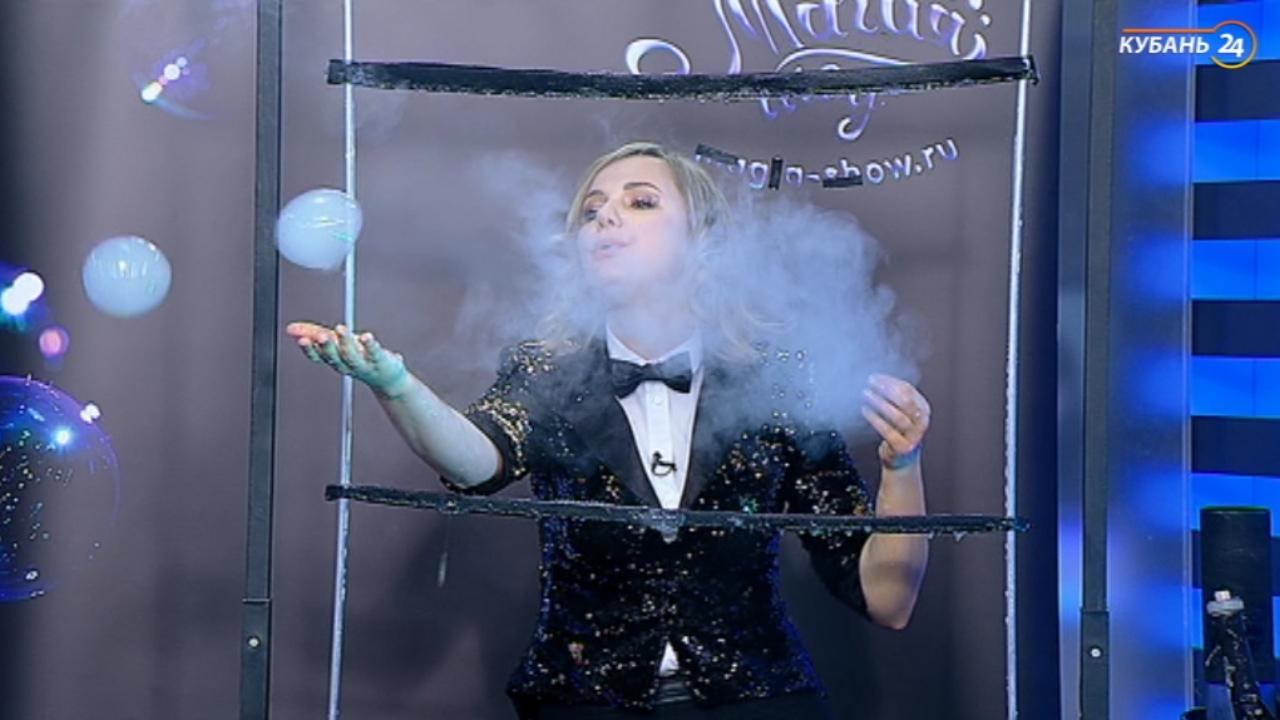 Артист шоу мыльных пузырей Инна Зинковская: я возвращаю зрителей в детство