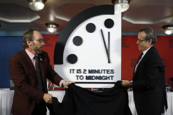 часы судного дня, ядерного катаклизма, апокалипсис