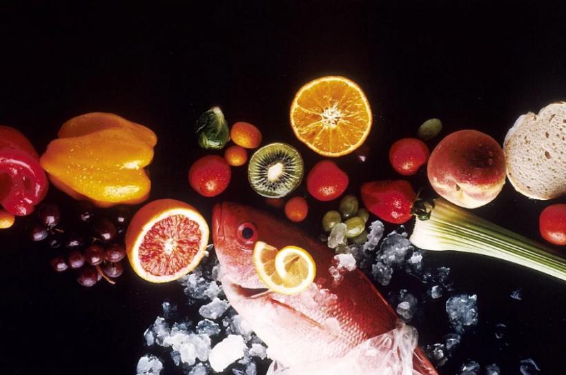 колоректального рака, рыбу, фрукты, морепродукты