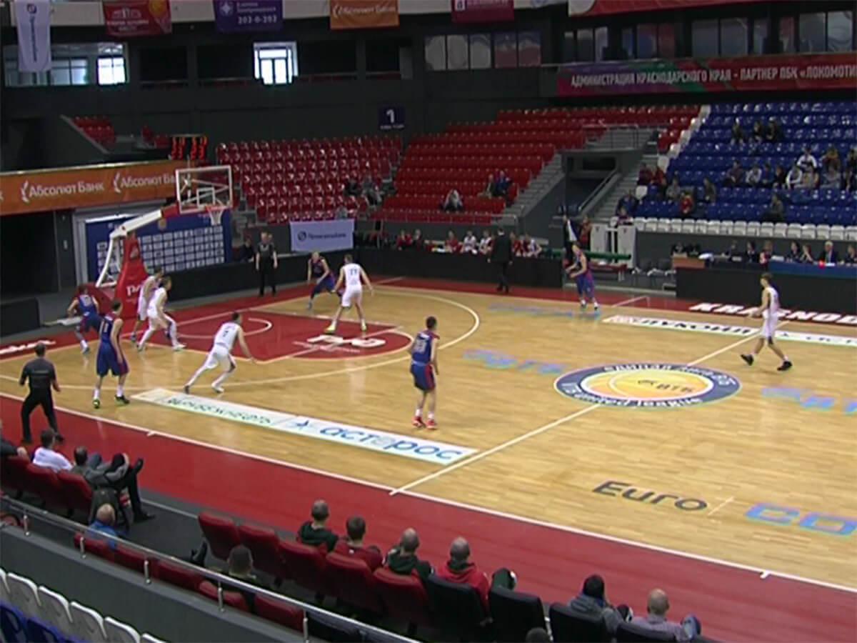 БК «Локомотив-Кубань 2» на выезде сыграет со второй командой «Самары»