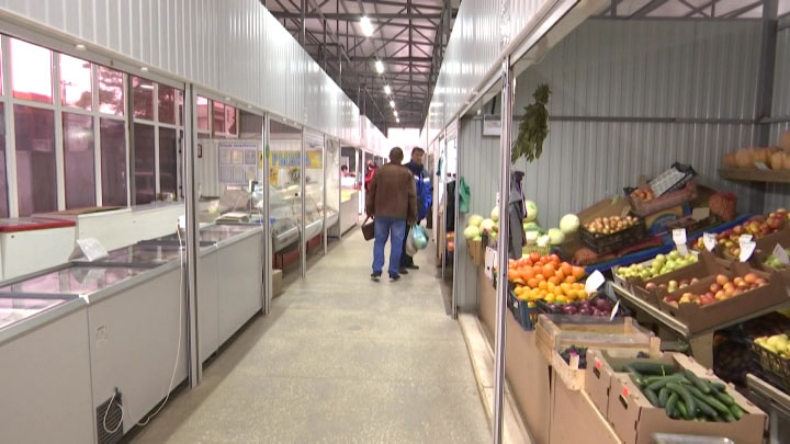 В Абинске после реконструкции заработал продуктовый рынок