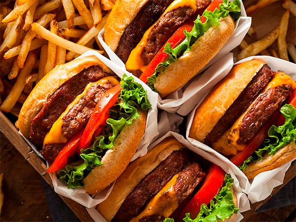 фастфуд, опасность для здоровья, бургер