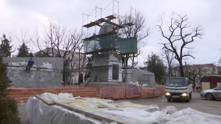 В Краснодаре началась реставрация мемориалов Великой Отечественной войны