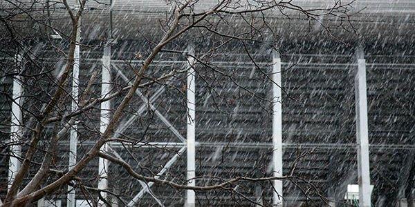 В Сочи продлили предупреждение по налипанию мокрого снега в горах