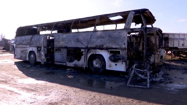 На Кубани пытались поджечь дом директора фирмы, у которой сгорели автобусы