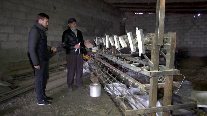 Фермер из Выселковского района создал станок для намотки шпагата