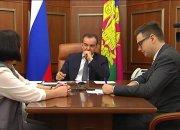 Кондратьев на приеме граждан выслушал инициативы жителей края