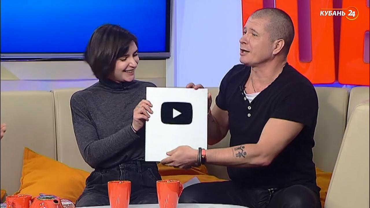 Канал «Кубань 24» получил серебряную кнопку YouTube за 100 тыс. подписчиков