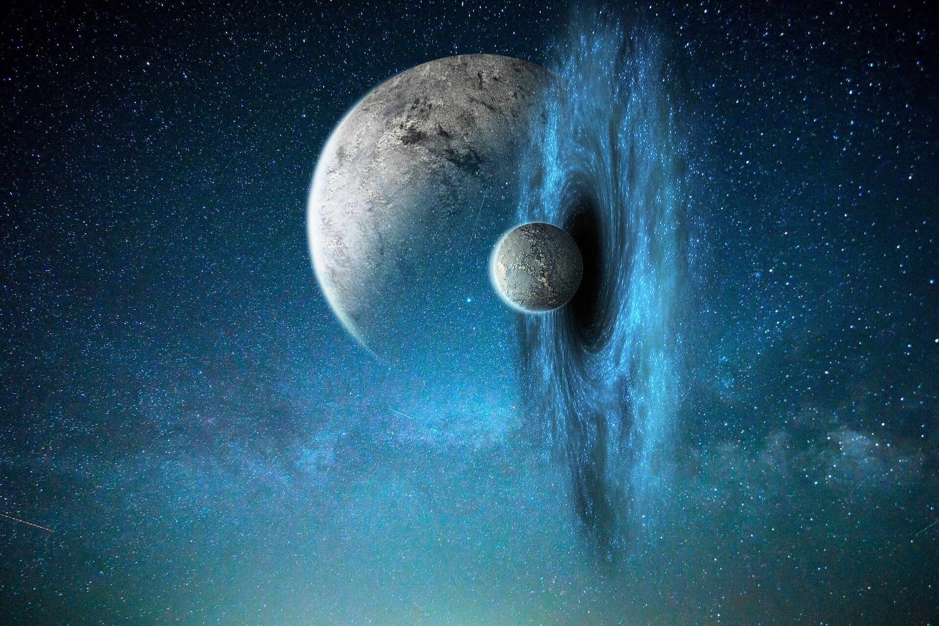 пространство-время, космос