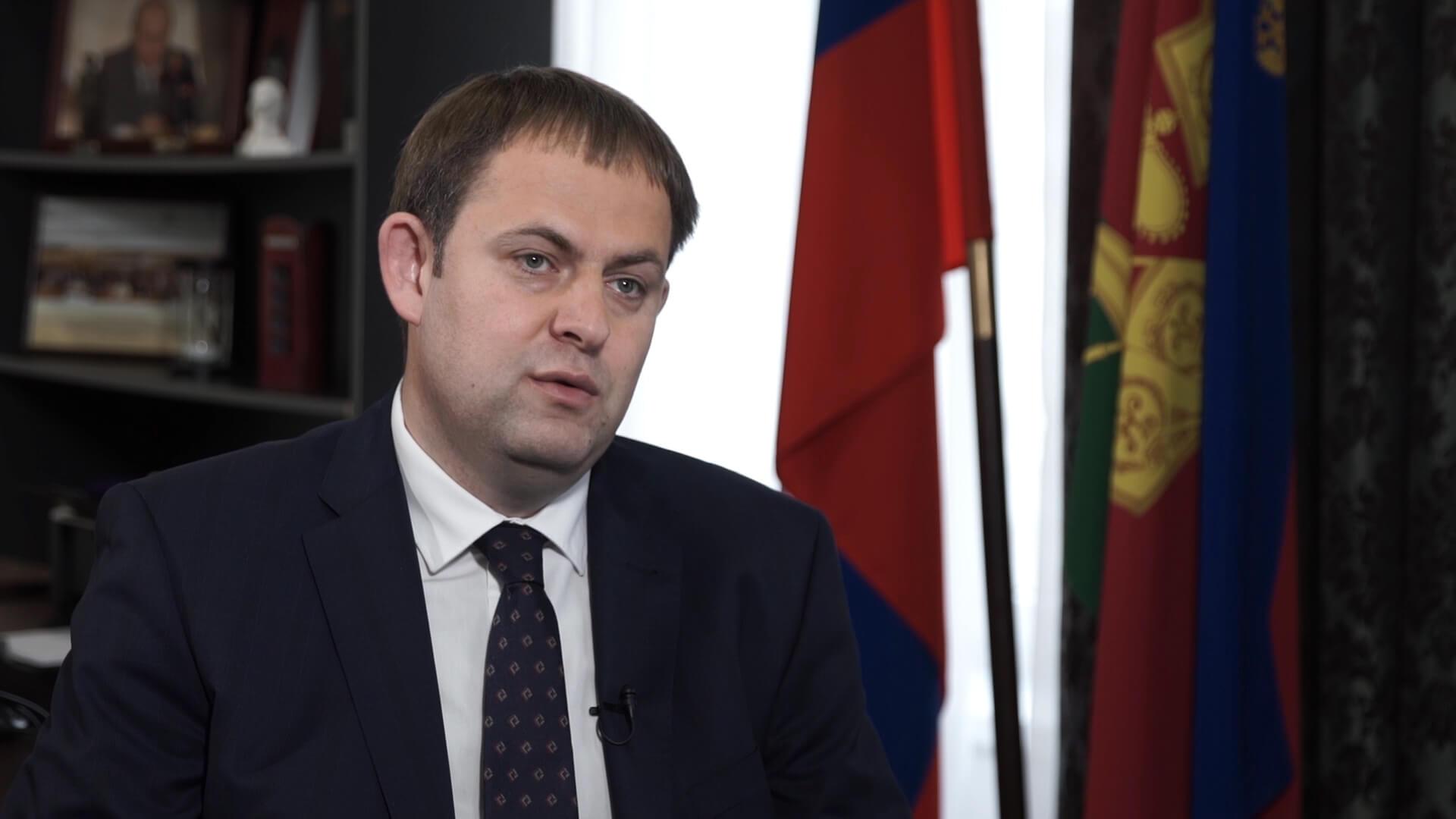 Интервью с главой департамента промышленной политики края Иваном Куликовым