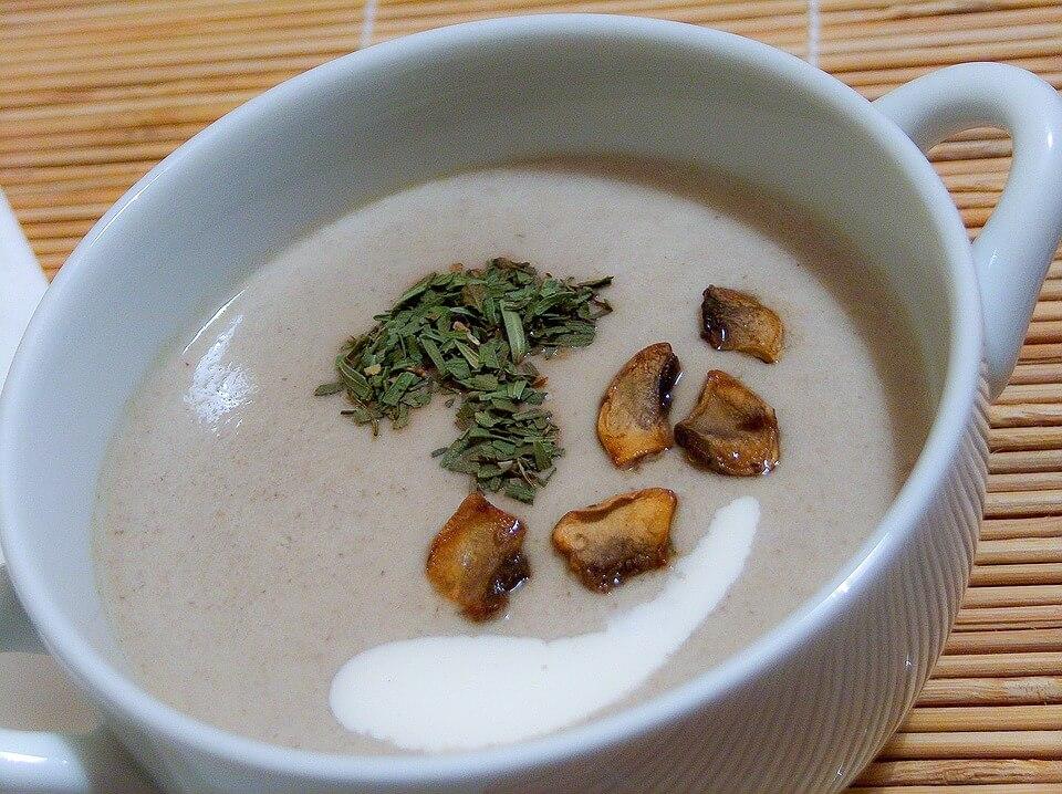 грибной суп, рак