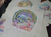 Жительница Новороссийска рисует акварелью открытки и отправляет по всему миру