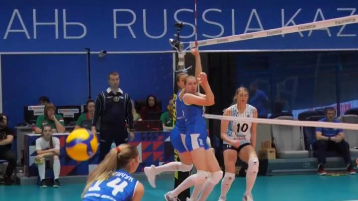 Волейбольное «Динамо» сыграет с одноклубницами из Казани