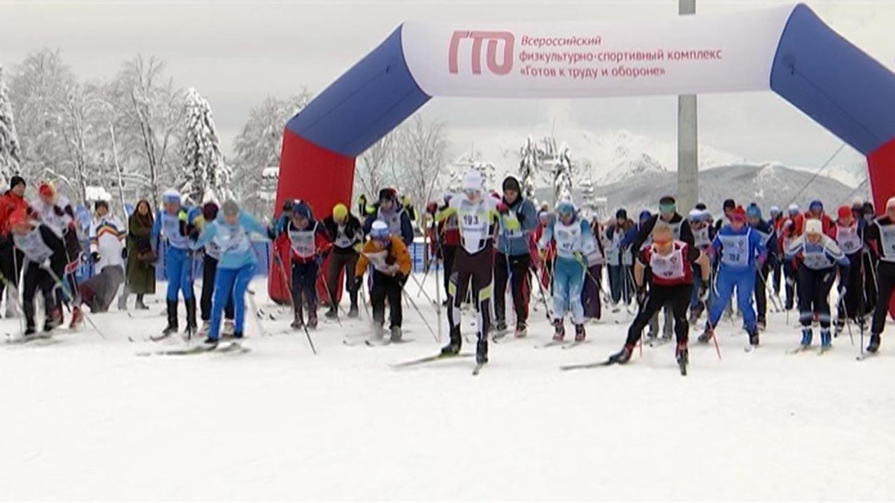 В Сочи прошел региональный этап всероссийской гонки «Лыжня России»