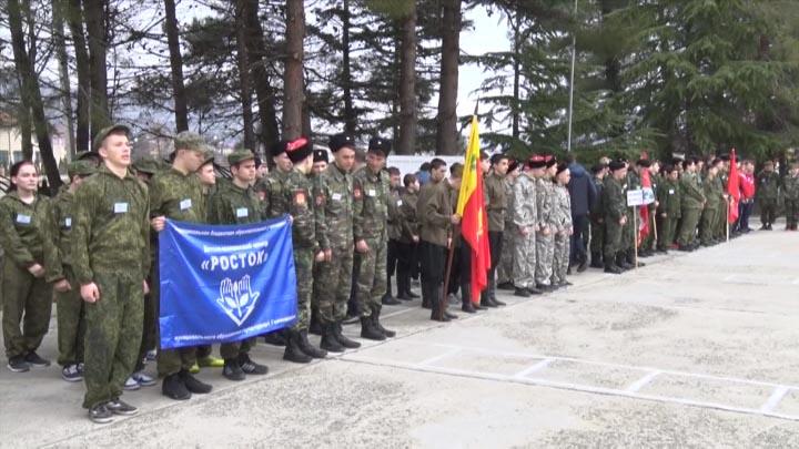 В Туапсинском районе прошла военно-патриотическая игра «Большие маневры»