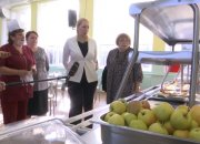Анна Минькова проверила работу школьных столовых в нескольких районах края