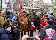 В Краснодаре реконструировали сражение между советскими войсками и гитлеровцами