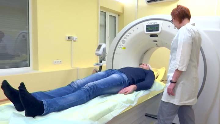 В краснодарской детской клинической больнице установили новый томограф