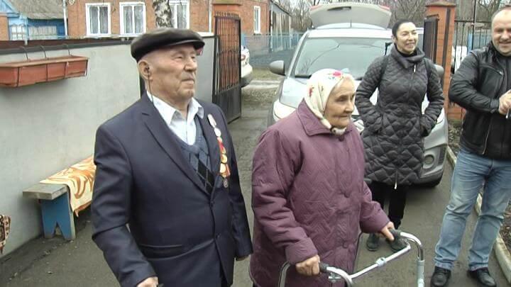 На Кубани супруги отметили 70-летие совместной жизни