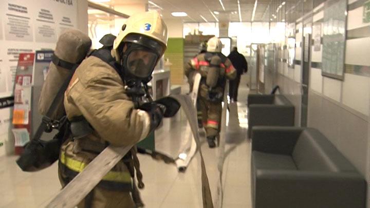В Краснодаре на базе торгово-промышленной палаты края прошли учения МЧС