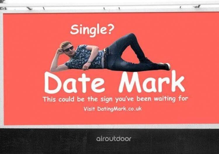 знакомства, онлайн, билборд, билборде