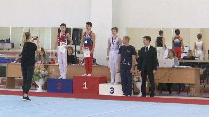 В Краснодаре прошло первенство края по спортивной гимнастике среди юношей
